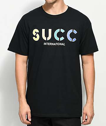 Succ Logo Black T-Shirt