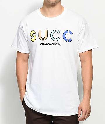 Succ Logo White T-Shirt