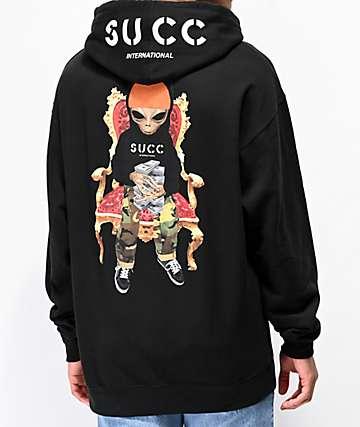 Succ Mayo Throne Black Hoodie