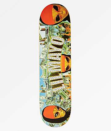 "Succ No Limit 8.0"" Skateboard Deck"