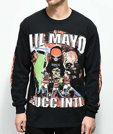 Succ No Limit camiseta negra de manga larga