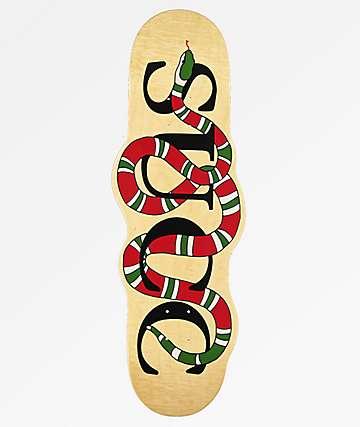 Succ Snake Cutout Skateboard Deck