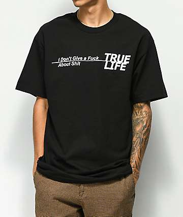 Succ True Life Black T-Shirt