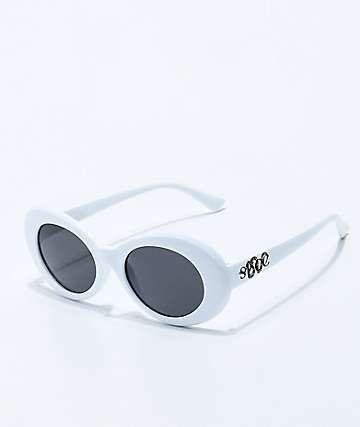 Succ White Clout Sunglasses