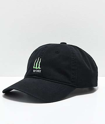 Succ Woke Black Baseball Hat