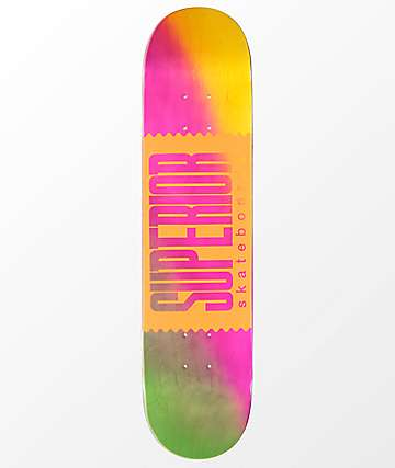 "Superior Fade Away 7.5"" Skateboard Deck"