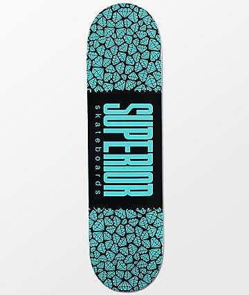 "Superior Gem Wrap Logo 8.0""  Skateboard Deck"