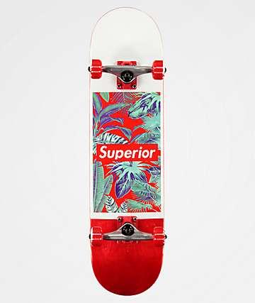 "Superior Jungle 8.0"" Skateboard Complete"
