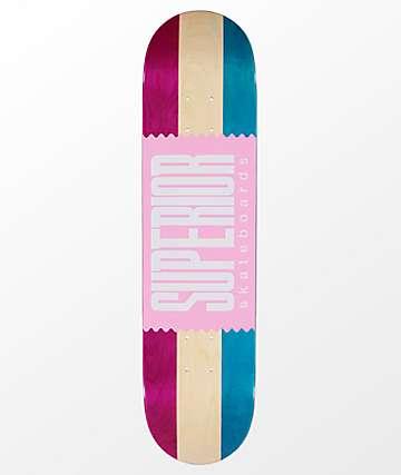 "Superior Neapolitan 7.75"" Skateboard Deck"