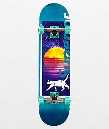 "Superior Nightcrawl 8.0"" Skateboard Complete"