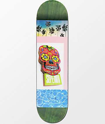 "Superior Pool Party 8.0"" tabla de skate"