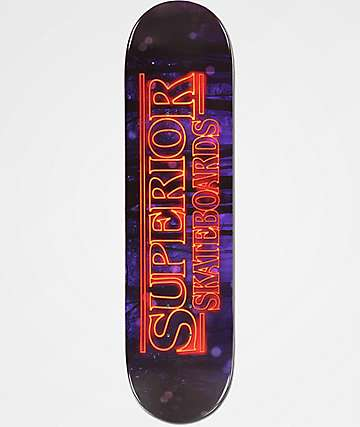 "Superior Stranger Boards 8.0"" Skateboard Deck"