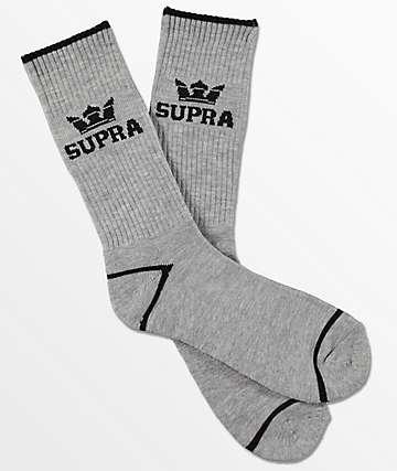 Supra  Crown calcetines grises