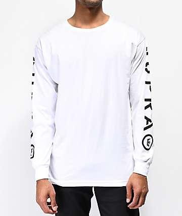 Supra All Caps White Long Sleeve T-Shirt