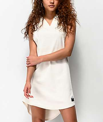 Supra All City White Jersey Dress