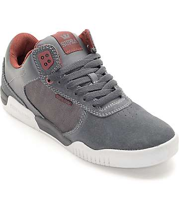 Supra Ellington Charcoal & Grey Skate Shoes