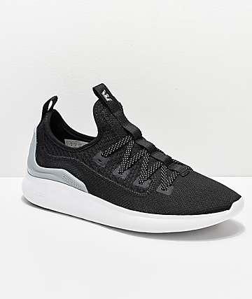 Supra Factor Black, Light Grey & White Shoes
