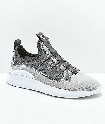 Supra Factor Light Grey   White Shoes 2b4c928a8d5