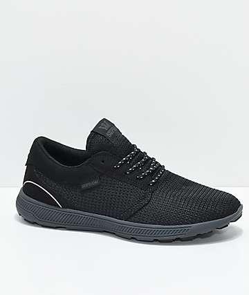 Supra Hammer Run 3M All Black Shoes