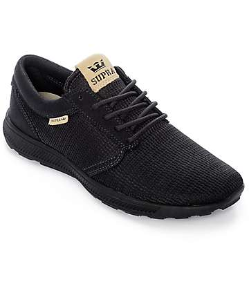 Supra Hammer Run Black Mesh Shoes