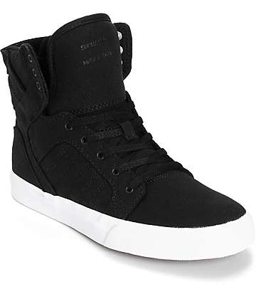 Supra Kids Skytop Skate Shoes