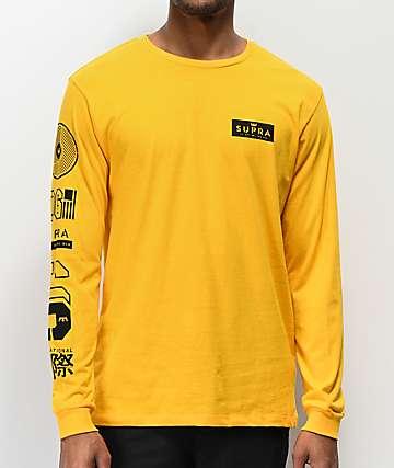 Supra Nexus Gold Long Sleeve T-Shirt