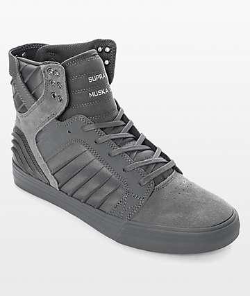 Supra Skytop EVO zapatos de skate en gris