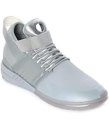 Supra Skytop V zapatos grises de skate