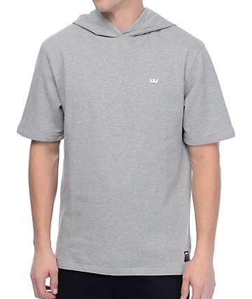 Supra Spar Heather Grey Hooded Sweatshirt