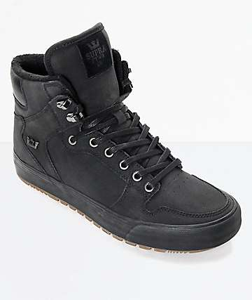 c4c53847c5cb Supra Vaider Cold Weather Black   Gum Boots