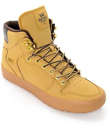 Supra Vaider Cold Weather Wheat & Gum Boots