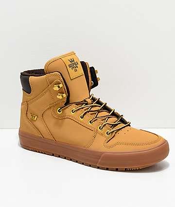 3ae9486664 Supra Vaider Cold Weather Wheat & Gum Boots