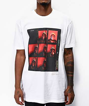 Supra x Baron Biggie White T-Shirt