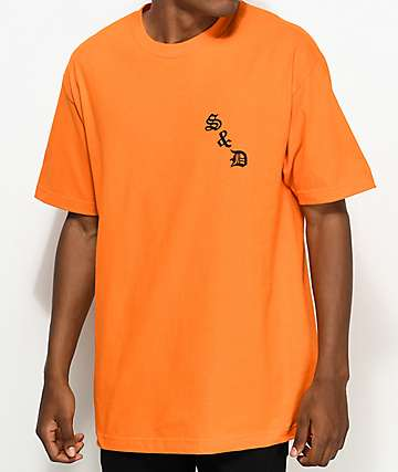Swallows & Daggers Dog Orange T-Shirt