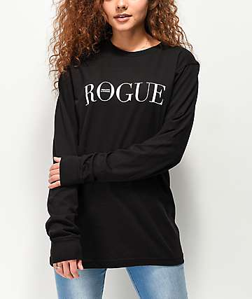 Swallows & Daggers Rogue Black Long Sleeve T-Shirt