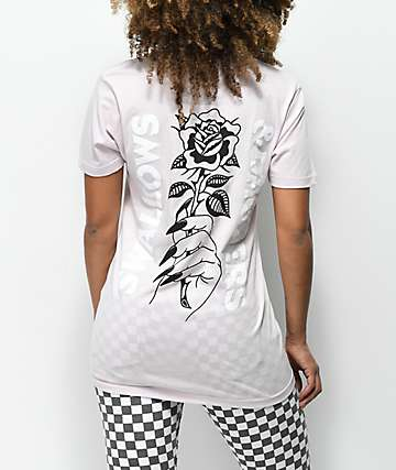 Swallows & Daggers Roses Lavender T-Shirt