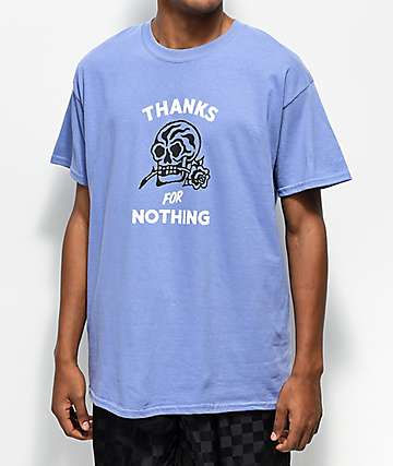 Swallows & Daggers Thanks For Nothing Lilac T-Shirt