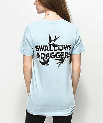 Swallows & Daggers Blue T-Shirt