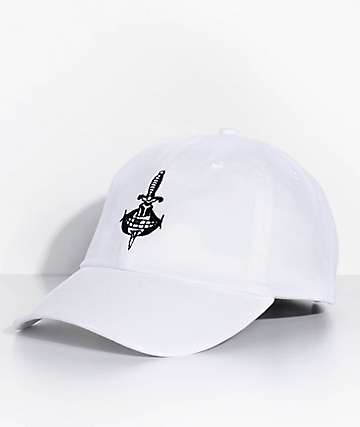 Swallows & Daggers No Snitches White Dad Hat