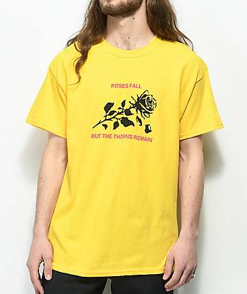 Swallows & Daggers Roses Fall Yellow T-Shirt