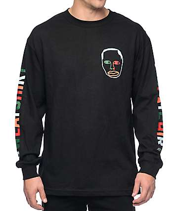 Sweatshirt By Earl Sweatshirt Multicolor camiseta negra de manga larga