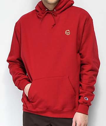 Sweatshirt By Earl Sweatshirt Premium 2 Burgundy Hoodie