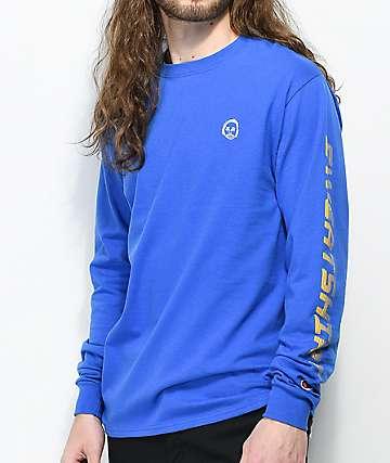 Sweatshirt By Earl Sweatshirt Premium Royal Blue Long Sleeve T-Shirt