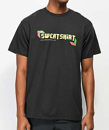 Sweatshirt by Earl Sweatshirt Audio Video S2 Black T-Shirt