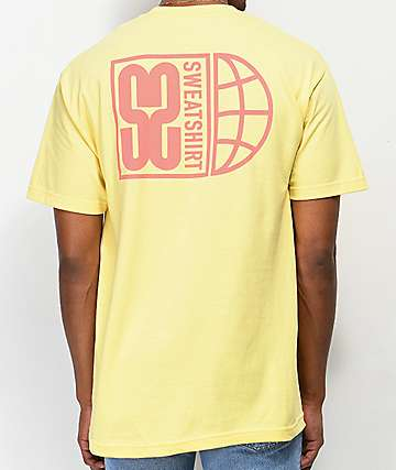 Sweatshirt by Earl Sweatshirt Global S2 Yellow T-Shirt