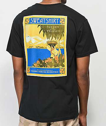 Sweatshirt by Earl Sweatshirt Paradise Black T-Shirt
