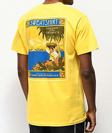 Sweatshirt by Earl Sweatshirt Paradise Yellow T-Shirt