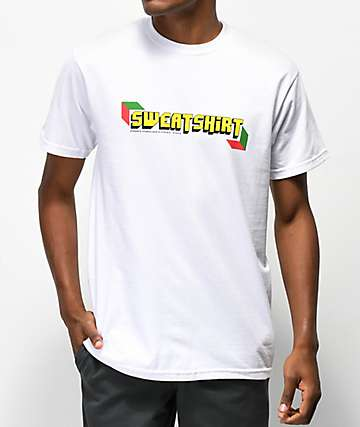 Sweatshirt by Earl Sweatshirt S2 Audio Visual White T-Shirt