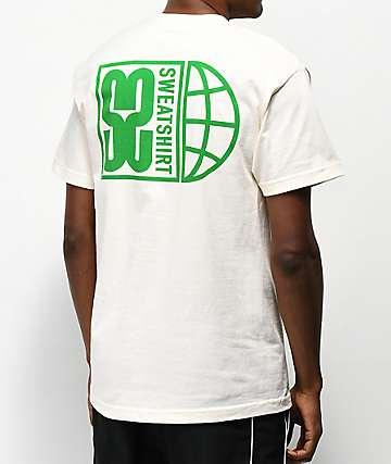 Sweatshirt by Earl Sweatshirt S2 Global Natural & Green T-Shirt