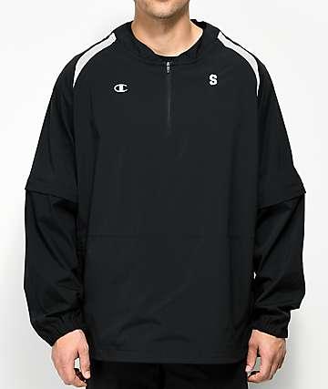 Sweatshirt by Earl Sweatshirt Warmup Black Jacket